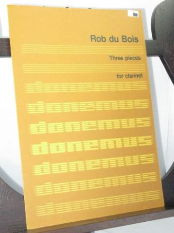 Du Bois R - Three Pieces for Clarinet